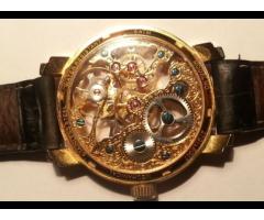 Женские часы sunlight. Модель - скелетон