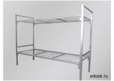 Собственного производства качественные кровати металлические