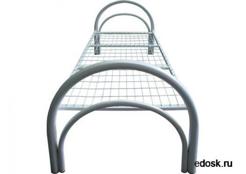 Со спинками различной конфигурации кровати металлические